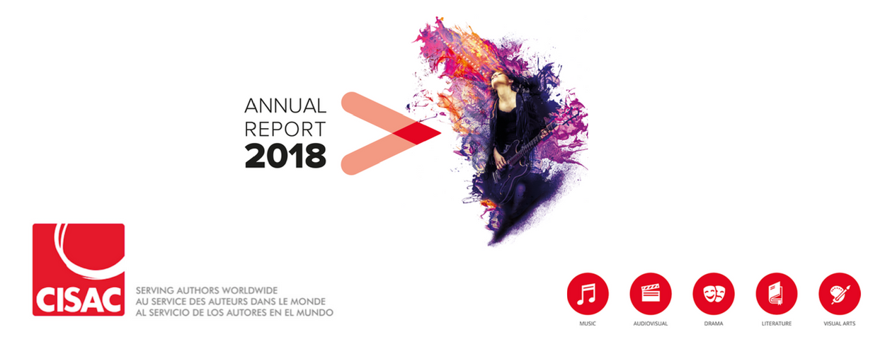 CISAC releases Annual Report 2018
